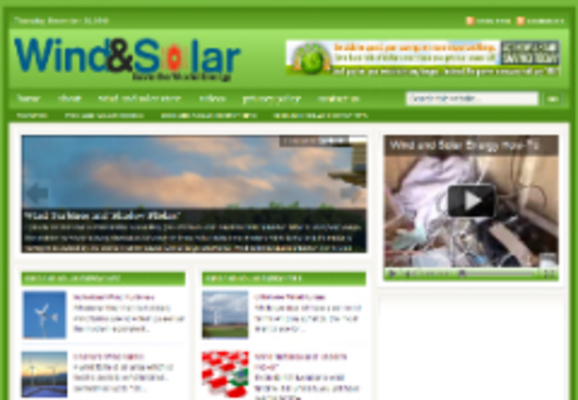 Product picture Wind & Solar Niche Blog (private Label Resell Rights)