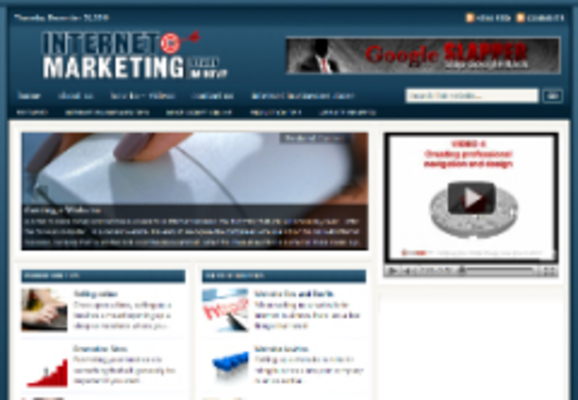 Product picture Internet Marketing Niche Blog (Private Resale Rights)